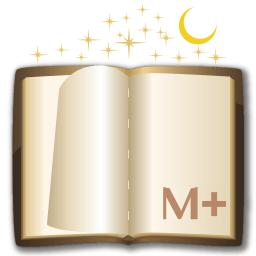 Moon+ Reader logo icon