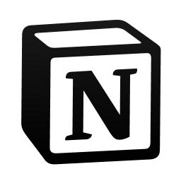 Notion logo icon