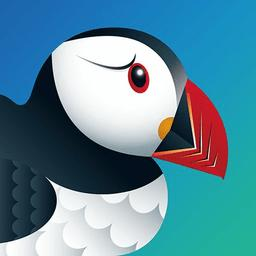 Puffin logo icon