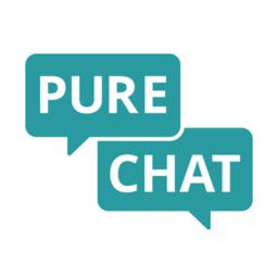 Pure Chat logo icon
