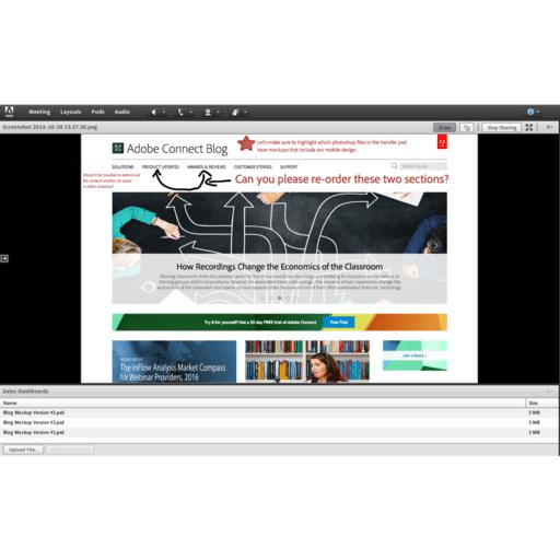 Adobe Connect screenshot 8