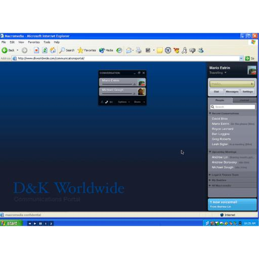 Adobe Connect screenshot 3