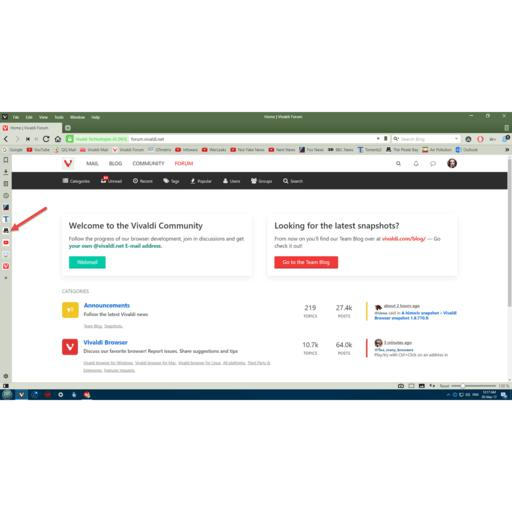 Vivaldi Browser screenshot 6